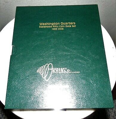 Intercept Shield Quality Coin Album Washington Quarters 1932 1998 Free Slipcase