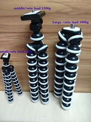 Flexible Octopus Tripod Stand Gorillapod For Canon Nikon Camera Digital DV Phone