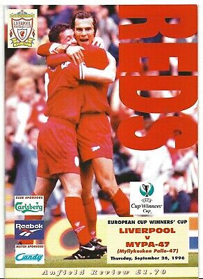 Football Programme>LIVERPOOL v MYPA-47 Sept 1996 ECWC