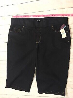 *NEW!* Gloria Vanderbilt Women/'s Avery Pull On Skimmer Mid-Rise Capri VARIETY