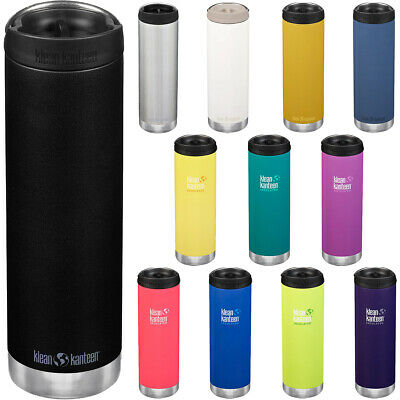 Klean Kanteen 20 oz. TKWide Insulated Stainless Steel Bottle with Cafe Cap