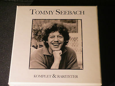 Tommy Seebach .Komplet & Rariteter.All his releases in 1 box. 11 CD`s.Very Rare
