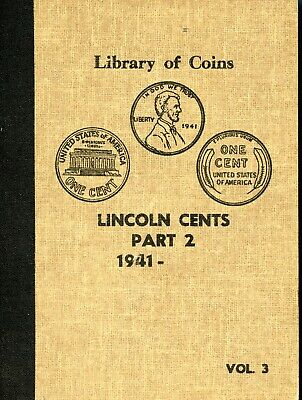 Incomplete Library of Coins Lincoln Cents Part 2 1941- EG473