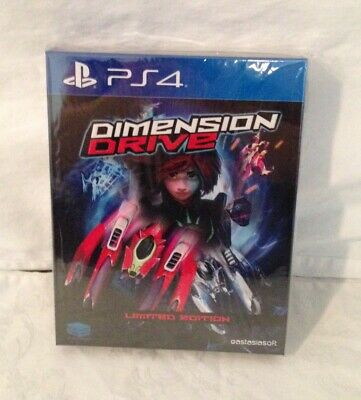 Dimension Drive Limited Edition PS4 + Soundtrack Asian / English Region Free
