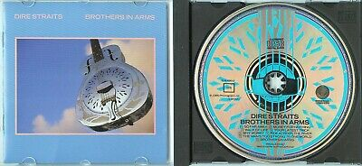 DIRE STRAITS Brothers In Arms 1985 WEST GERMANY CD rare TOP SOUND 1press NO PDO