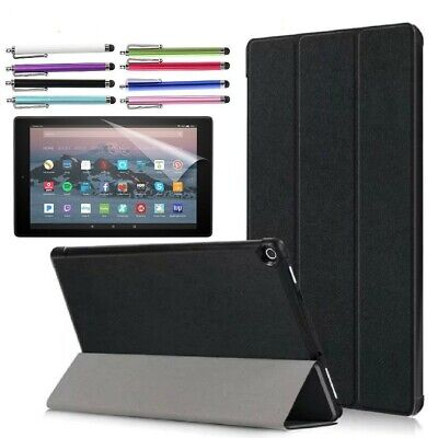 "Case For Amazon fire 7"" / HD 8"" / HD 10"" Tablet Cover with Free Screen Protector"
