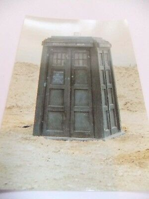 Doctor Who Postcard Dr Tardis William Hartnell Patrick Troughton Baker Pertwee