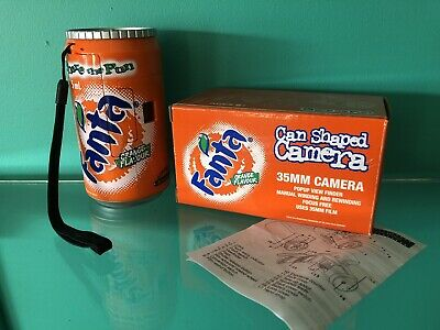 Vintage Collectible Fanta Can Camera 35mm NEW UNUSED