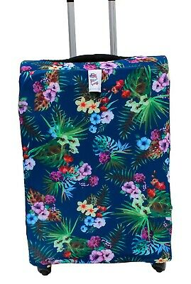 Snuggage is a brightly colored, stretchy fabric,Luggage cover Fits MEDIUM case