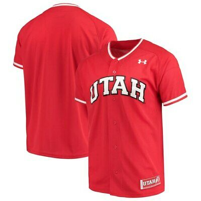 dd7e175bf NEW UTAH UTES BABY Football NCAA Jersey Under Armour UA #4 NWT Red 6 ...