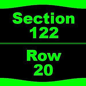 3 Tickets  Los Angeles Chargers Colts 9/8 Dignity Health Sports Park - Stadium
