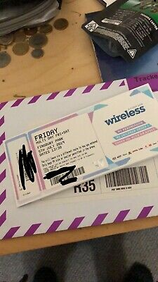 Wireless Festival 2019 Friday Ticket ONLY!