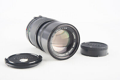 Canon New FD 135mm f/3.5 Prime Telephoto Lens with Both Caps V09