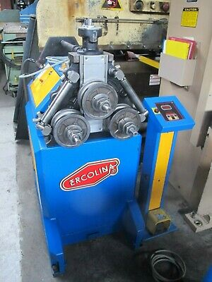Ercolina 3 Roll Angle Roll & Pipe  Bender with (6) Sets of Dies