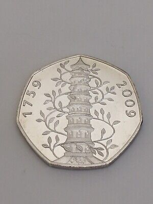 Great British Coin Hunt 50p Coin 2009 Kew Gardens 50p Coin See Description