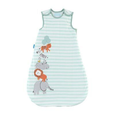 Size Zip Grobag, 3.5 Tog (Jungle Stack) - 18-36 Months Free Shipping!