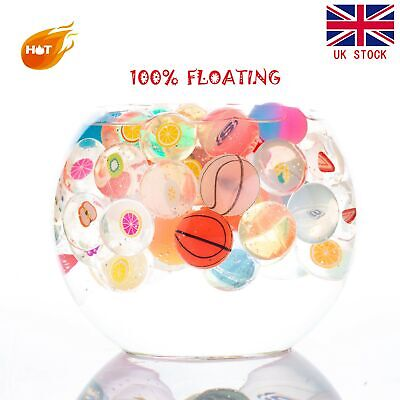 UK 10-30pack FLOATING Bouncy Jet Balls 27mm Pinata Toy Loot/Party Bag Fillers