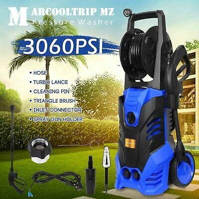 Electric Pressure Washer 3060 PSI/211 BAR Water High Power Jet Wash Patio Car