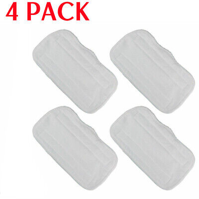 4PCS Replacement Microfiber Pads For Shark Steam Mop S3251 S3101 XT3010 SE200