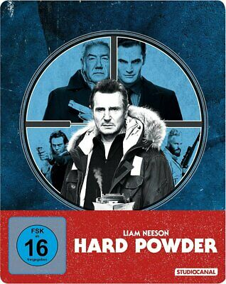 Vorbestellung: Hard Powder - Limited SteelBook Edition # BLU-RAY-NEU