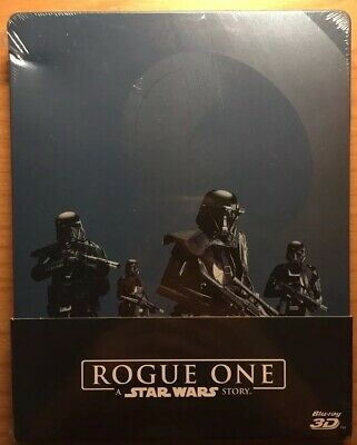 Rogue One A Star Wars Story Steelbook Blu-Ray 3D