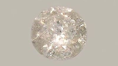 Antique 19thC Handcut ½ct+ Siberian Diamond Medieval Royal Gem Fearless Virtue