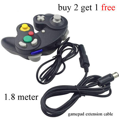 1.8M Gamepad Extension Cable Cord for Nintendo Gamecube Wii-Classic Controller