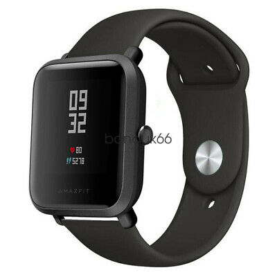 for Xiaomi Amazfit Bip Youth Watch Band, Replacement Soft Silicone Sports Strap