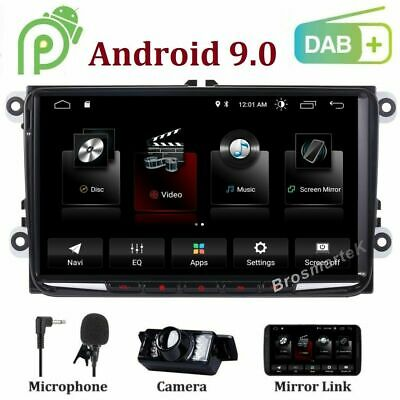 Android 9.1 DAB+ DVD GPS Navigation 4G Wifi For VW GOLF MK5 MK6/POLO/PASSAT/SEAT
