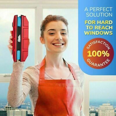 Magnetic Window Cleaner Tools Single / Double Glazing Windows Glass Cleaning
