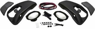 Speakers HogTunes Ht-Lid 6X9 Speaker Lid Saddlebag Set Kit Bagger 98-13 Harley FLH/T Parts & Accessories