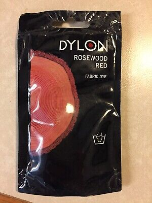 Dylon Rosewood Red Hand Wash Fabric Dye 50 g