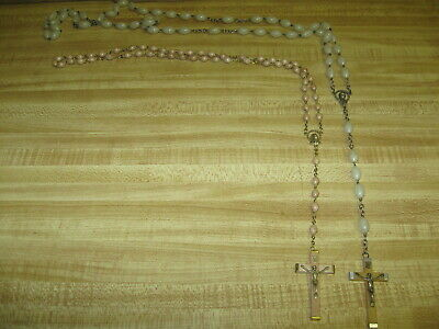 5 Fabulous Vintage Rosaries - All Kinds - Bakelite? - Must See These!!!!!!!!