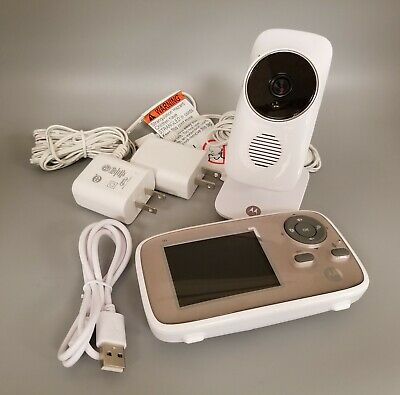 """Motorola MBP667 Connect Digital Video Color LCD Screen Baby Monitor Wi-Fi/2.8"""""""