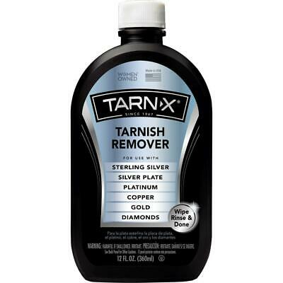 Tarnish Remover Sterling Silver Gold Diamonds Jewelry Cleaner Tarn-X 12 Oz New