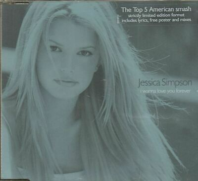 Jessica Simpson(CD Single)I Wanna Love You Forever-Columbia-6691275-UK-