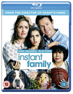 Instant Family Blu-ray (2019) Mark Wahlberg, Anders (DIR) cert 12 ***NEW***