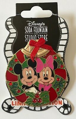 Disney Dsf Noël Couronne Mickey & Minnie Broche le 300