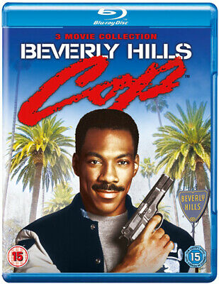 Beverly Hills Cop Triple Feature Blu-Ray New Region B