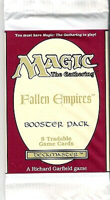 """Magic MTG - """"Fallen Empires"""" 8  card - Sealed Booster Pack              Lot of 3"""