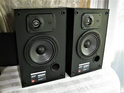 JBL 2500 BOOKSHELF Stereo Speakers Pair Vintage 12 5 X 8 X 6
