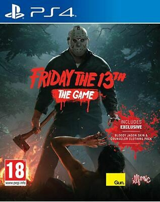 Friday The 13th The Game (PS4) BRAND NEW AND SEALED - IN STOCK - QUICK DISPATCH
