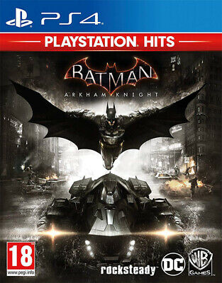 Batman: Arkham Knight - Playstation Hits (PS4) NEW AND SEALED - QUICK DISPATCH
