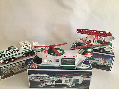 1991 1994 2001 Hess Trucks With Boxes And Inserts