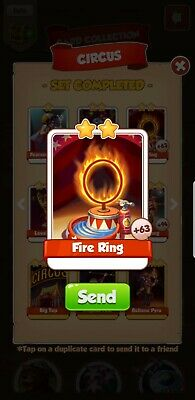 Coin Master Fire Ring X10