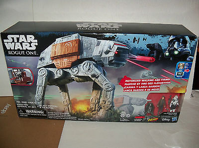 Retired new Star Wars ROGUE 1 Remote Motorized RAPID FIRE IMPERIAL AT-ACT WALKER