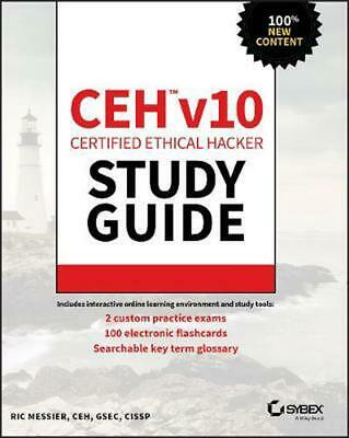 CEH v10 Certified Ethical Hacker Study Guide by Ric Messier Paperback Book Free