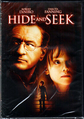 HIDE AND SEEK The MOVIE on a DVD of SUSPENSE Horror THRILLER with ROBERT DE NIRO