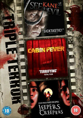 See No Evil Jeepers Creepers Cabin Fever Dvd New Region 2