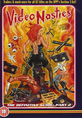 Video Nasties The Definitive Guide 2 Limited Edition Dvd New Region 2